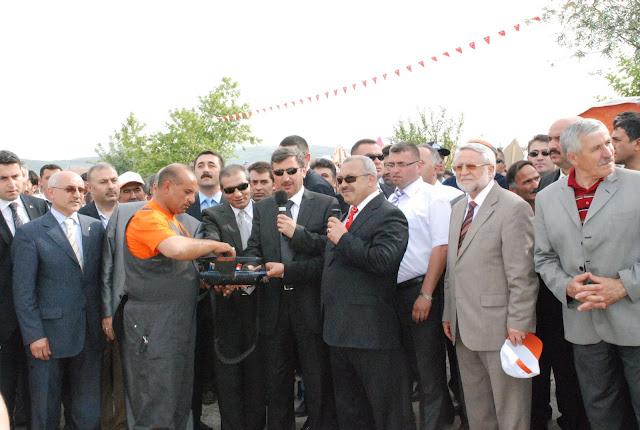 Turhal Belediyesi Otobüs Terminali'nin Temeli Törenle Atıldı.