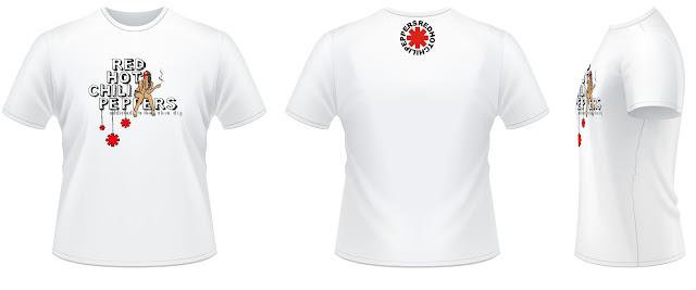 Modelo 2 - Camisa RHCP - Addicted To The Shin Dig