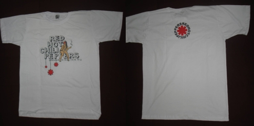 Red Hot Chili Peppers RHCP  - Addicted To The Shin Dig - Camisa