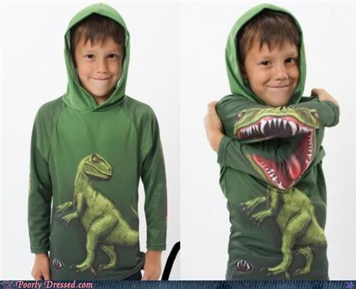 Camisa Infantil Dinossauro T-Rex