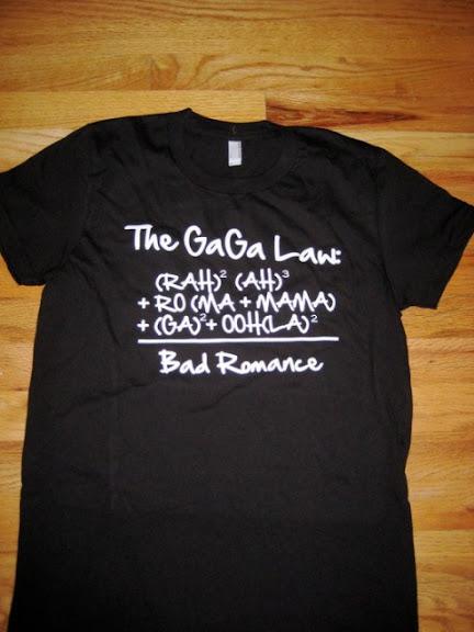 Camisa Lady Gaga Bad Romance Formula