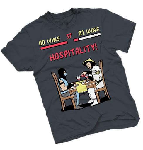 Mortal Kombat, camisa Hospitality