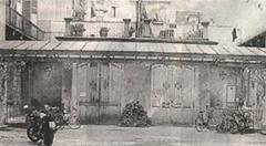 La officina dei fratelli Eugenio ed Enrico Canfari, prima sede dello Sport Club Juventus in corso Re Umberto 42, Torino (1897).