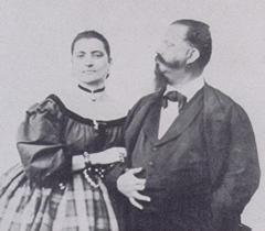 Vittorio Emanuele II e la Bela Rosin