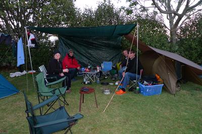 Camping at Whananaki