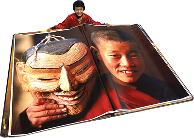 Bhutan: world's largest book