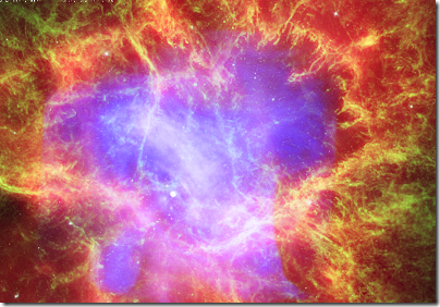 WorldWide Telescope: Chandra Crab Nebula tour