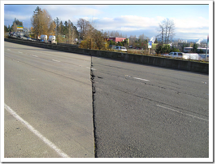520 Repaving: existing road surface