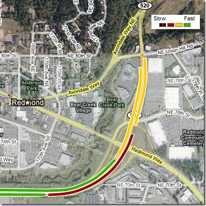 Google Maps: Redmond Traffic Flow Prediction