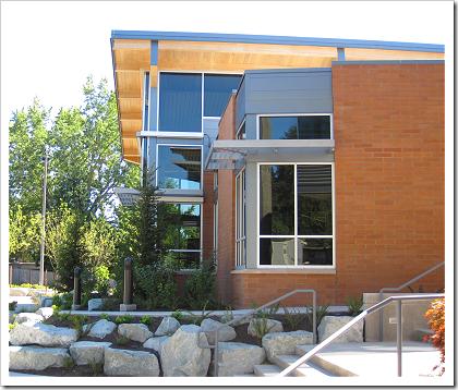 Lake Hills Library entrance