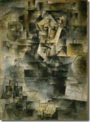 Portrait of Daniel-Henry Kahnweiler - 1910