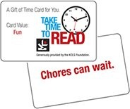 Gift of Time card