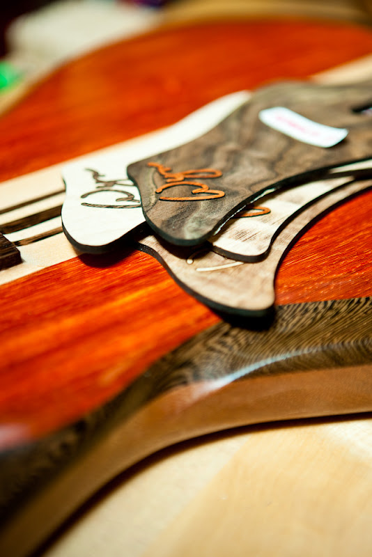 Wyn Guitars, exotic wood, Randall Fullmer