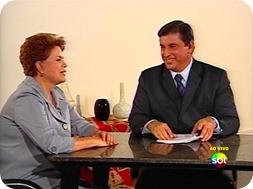 Dilma Rousseff no SBT Brasil - 02/11/2010