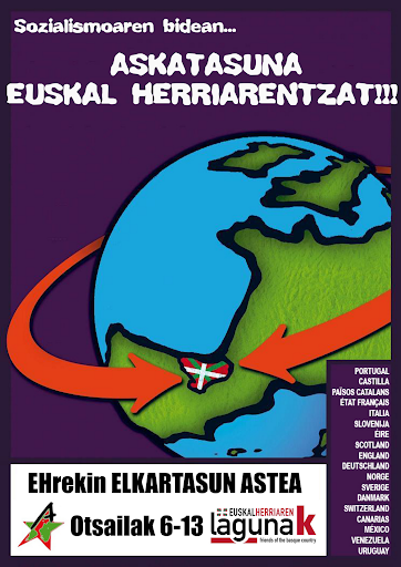 international solidarity week with euskal herria