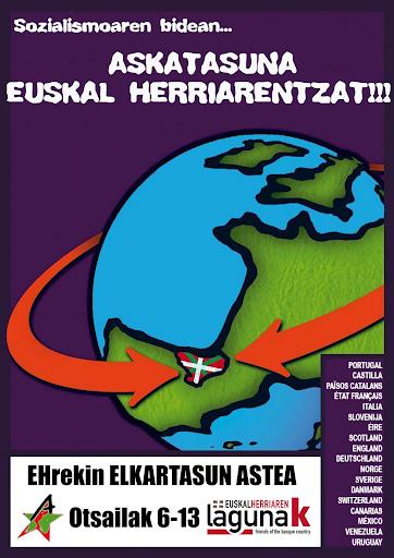 international solidarity week with euskal herria