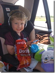 Jonah in the car