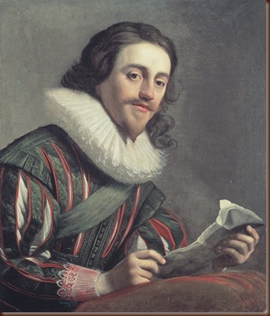 King Charles 1,with a Letter in His Hands