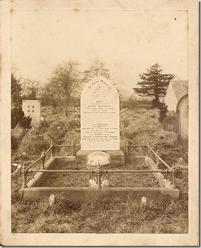 snowden-headstone
