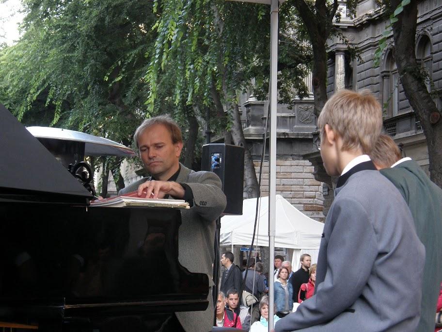 Budapest,  Andrássy út, koncert, zenés korzó, VI. kerület,   Liszt, Mahler, Erkel