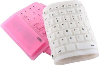 Usb-wireless-flexible-keyboard