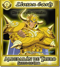 Aldebarán de Tauro ★ Los Santos de Oro | Saint Ll-Cards