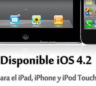 iOS 4.2 para el iPad disponible hoy para Descargar!