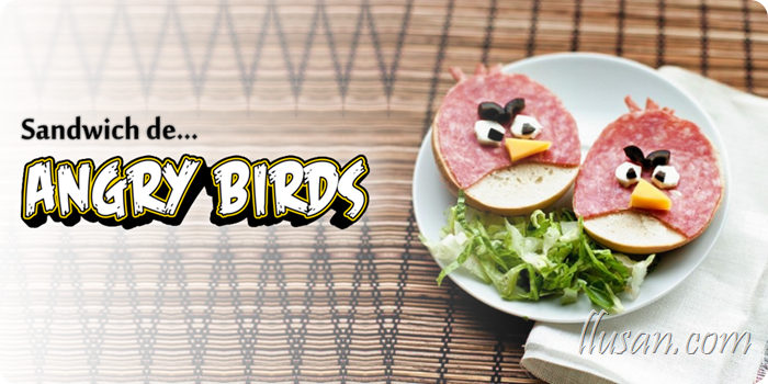 Un Sándwich de Angry Birds *¬*