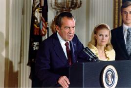 démission de Nixon