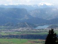 Pogled na Bled z Zabreške planine