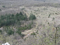 Pot iz Zazida na Veliki Gradež