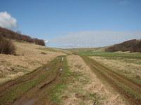 Dolina med Slatno in Vremščico