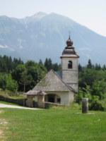 Sv. Katarina s Homom v ozadju