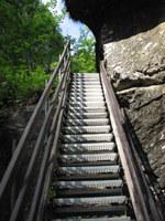 Stopnice skozi sotesko