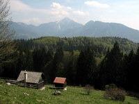 Kriška gora in Storžič z Breške planine