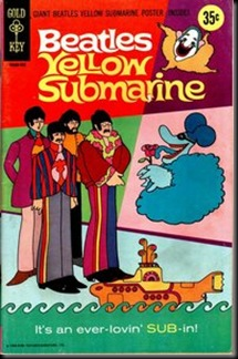 Yellow Submarine Comic