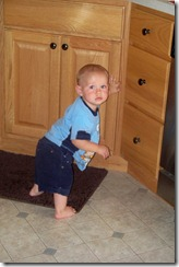 Jonathan standing in kitchen