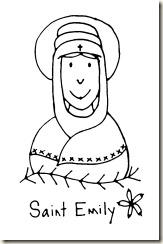 saint emily