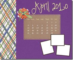 April Desktop Theme Custom