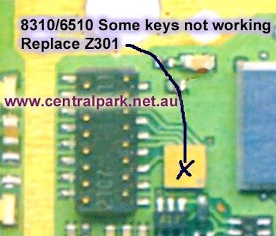 Trik Jumper 8310 6510 algunas  teclas no funcionan