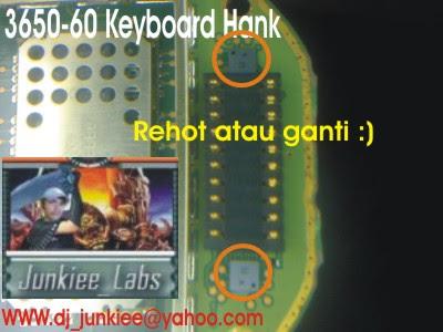 3650 3660 Keyboard  Hank