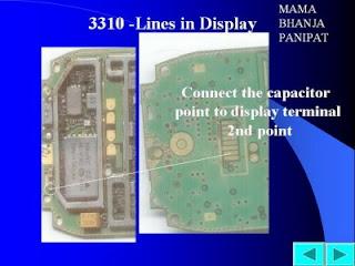 Trik Jumper  Nokia 3310 line in display