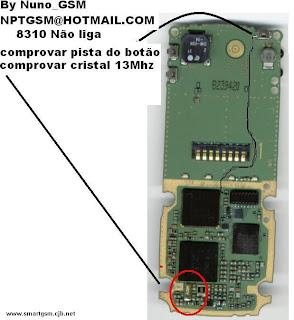 Trik Jumper 8310  cristal e pista (not power on)