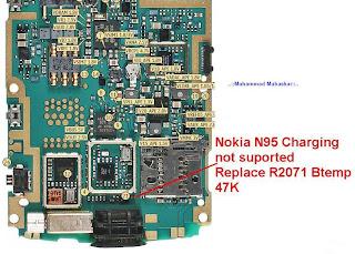 Trik Jumper Nokia N95 charging