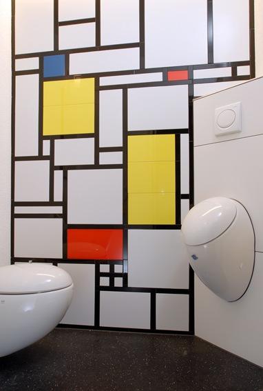 Trogenstrasse WC Mondrian