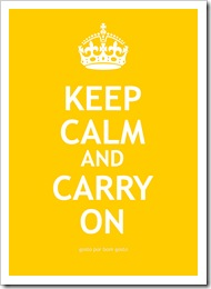 Keep Calm Amarelo