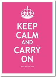 Keep Calm Rosa