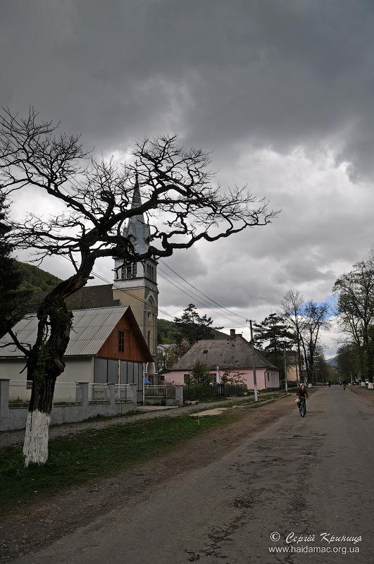 кірха в Усть-Чорній