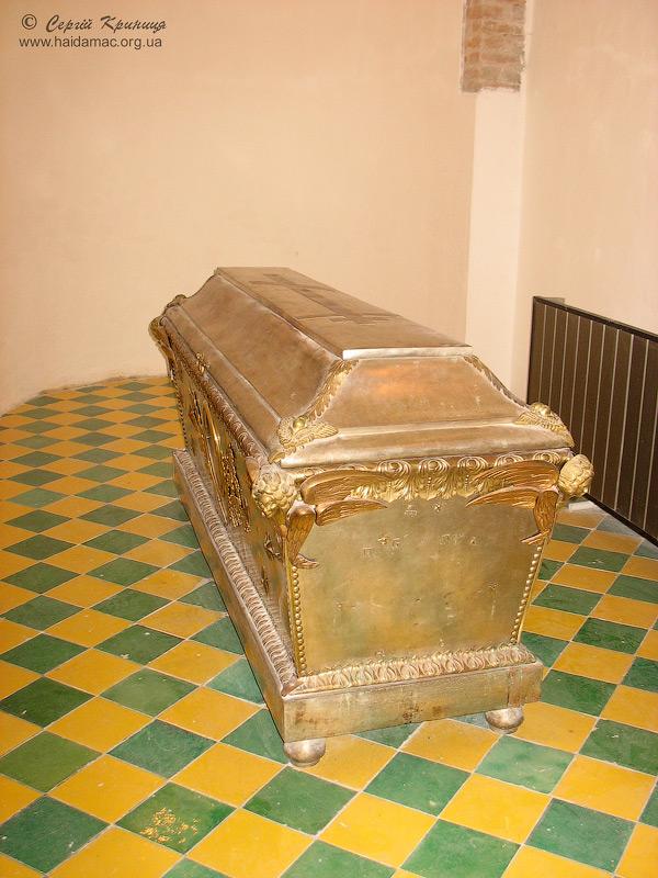 з експозиції музею саркофаг князів