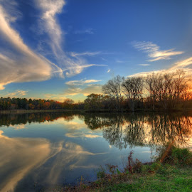 Reflection by Casey Mitchell - Landscapes Sunsets & Sunrises